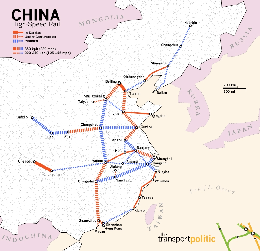 High Speed Rail In China. about a high-speed rail