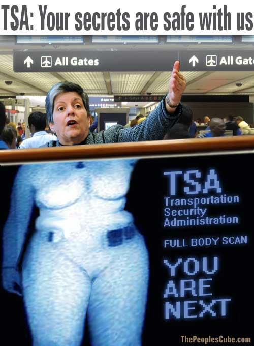 Homeland Security Tsa Poster